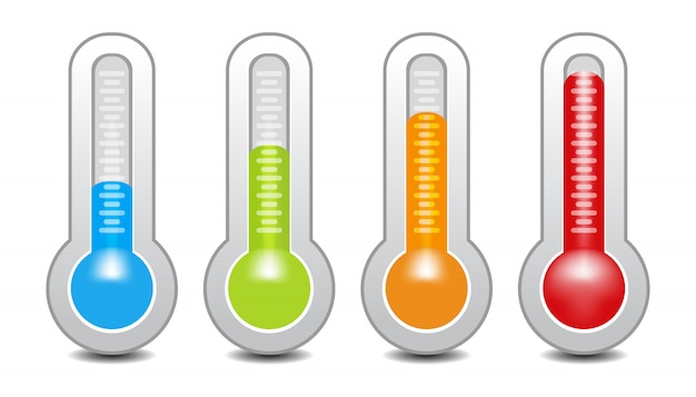 Indicatore di temperatura utilizzato nella griglia di cottura con l'attrezzatura