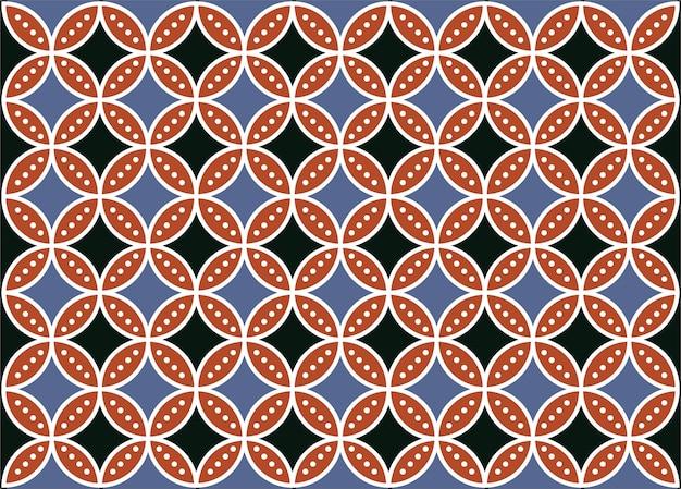 Indonesia batik design