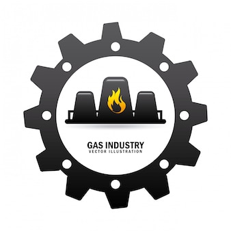 Industria del gas