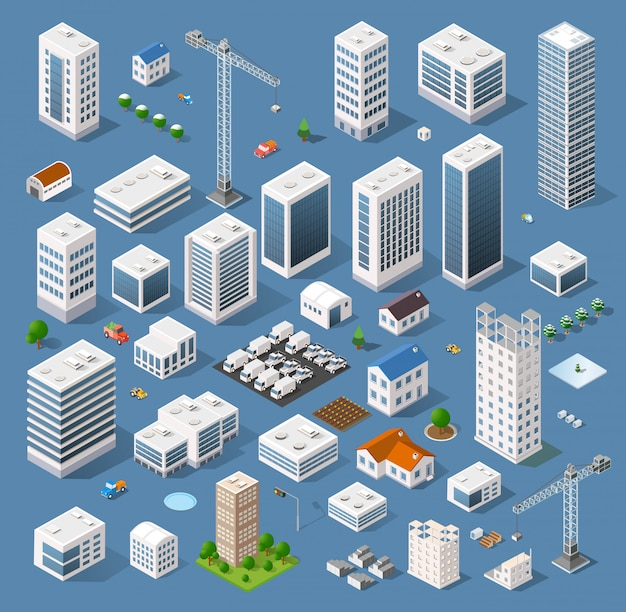 Industriale basato sulla proiezione isometrica