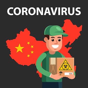 Infezione da coronavirus dalla cina.