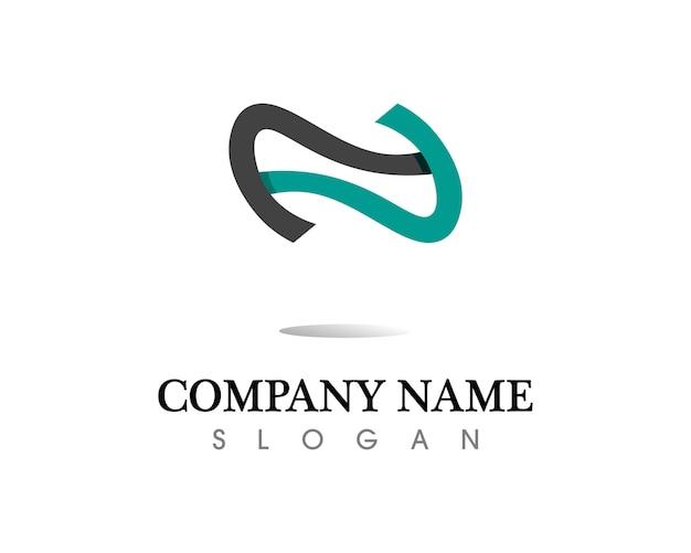 Infinity logo e icone del modello simbolo app