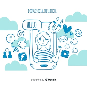 Influencer sociale