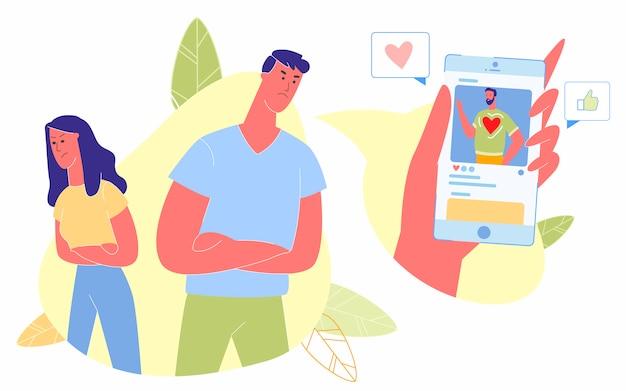 Influenza delle reti di social media sulle relazioni umane