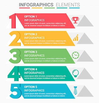 Infografica business staircase