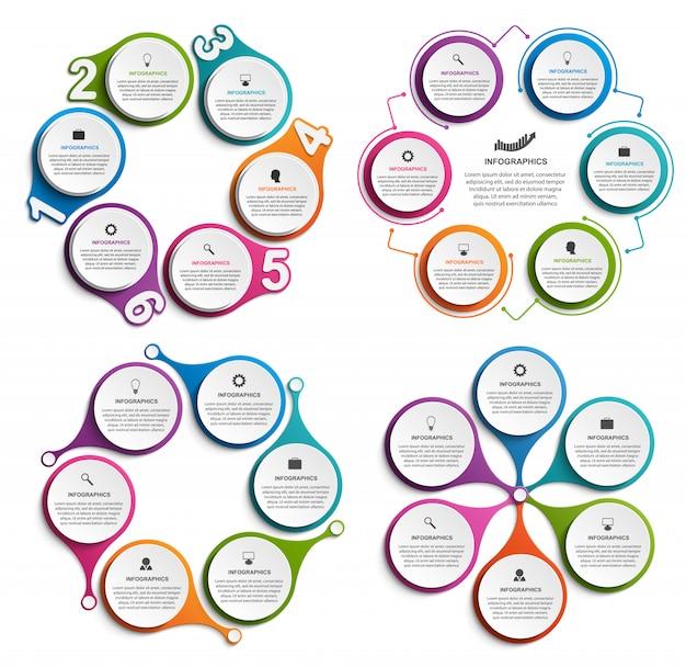 Infografica collezione