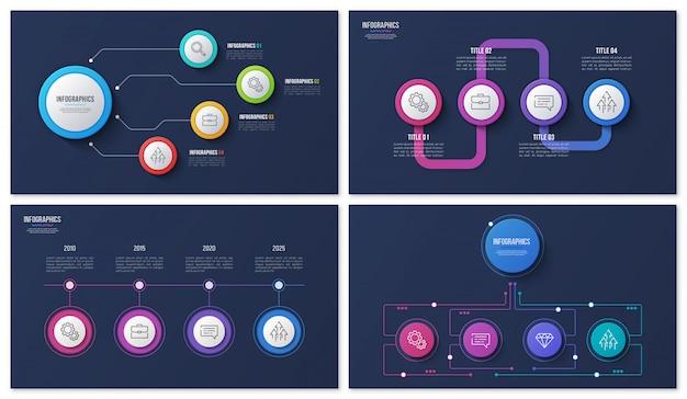 Infografica con passaggi