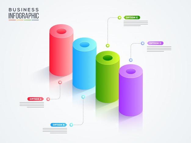 Infografica di affari.