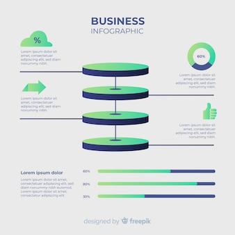 Infografica di affari