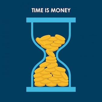 Infografica di denaro