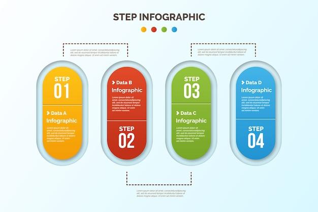 Infografica di passaggi