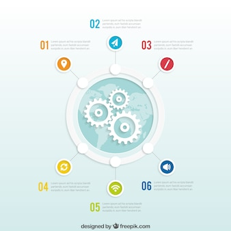 Infografica global business