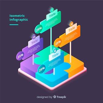 Infografica isometrica