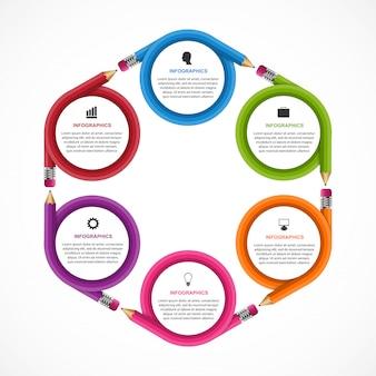 Infografica per l'educazione