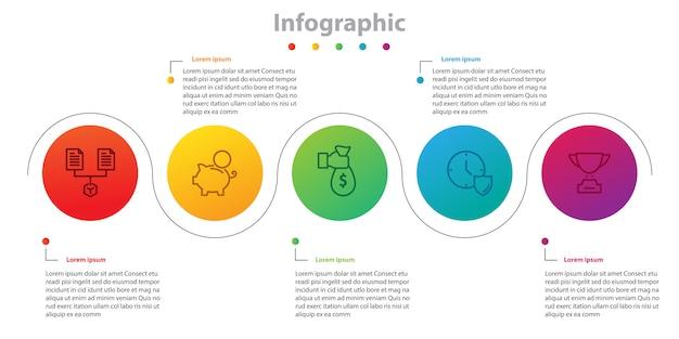 Infografica, piano temporale, infografica informativa