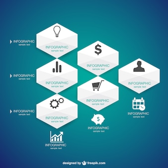 Infografica presentazione delle informazioni grafiche