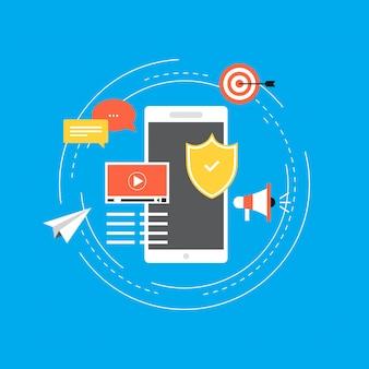 Informazioni protette, privacy dei dati e protezione online