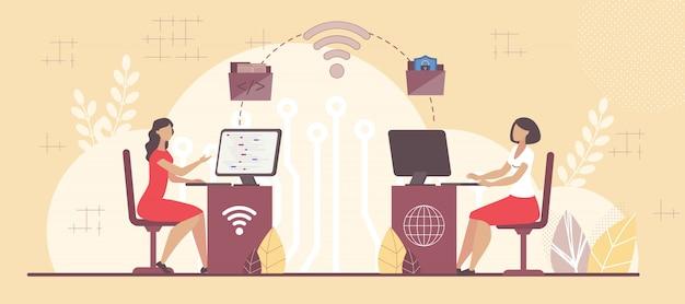 Infrastruttura per la cooperazione tra team aziendali