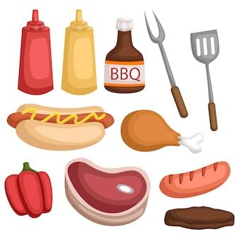 Ingrediente per il barbecue