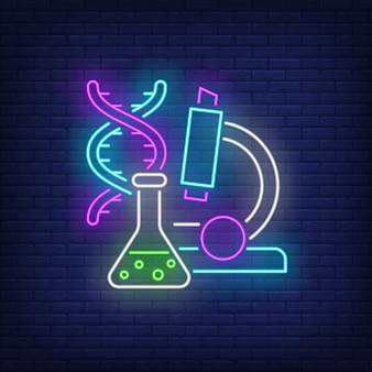 Insegna al neon da laboratorio