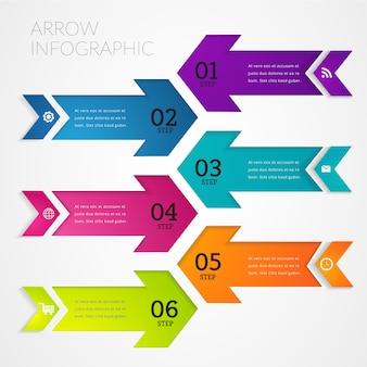 Insegna moderna dell'elemento di progettazione di infographic.