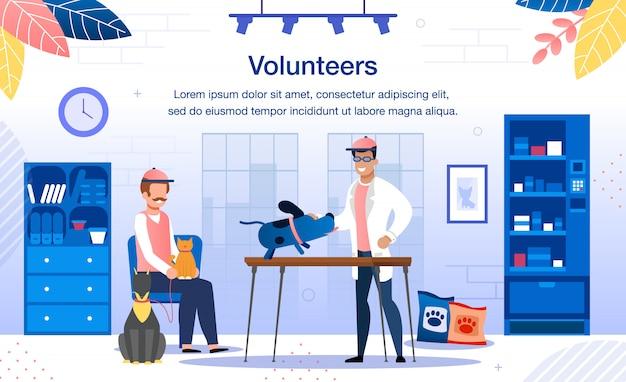 Insegna volontaria di salvataggio degli animali randagi