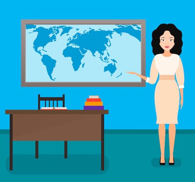 Insegnante di geografia