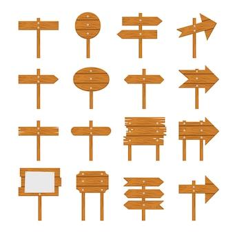 Insegne di legno