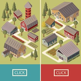 Insegne isometriche dell'azienda agricola