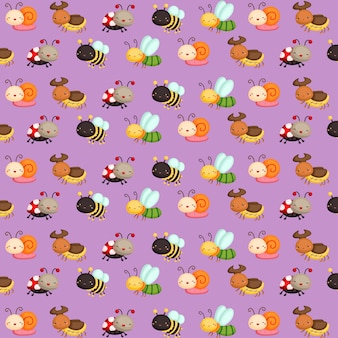 Insetto pattern background