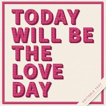 Inspirational citazione modificabile per l'amore e gli amanti