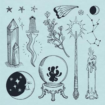 Interessante raccolta di elementi esoterici