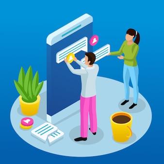 Interfaccia grafica che crea concetto