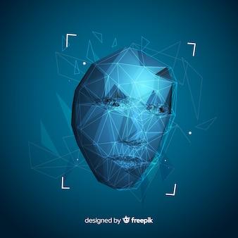 Interfaccia software astratta di riconoscimento facciale