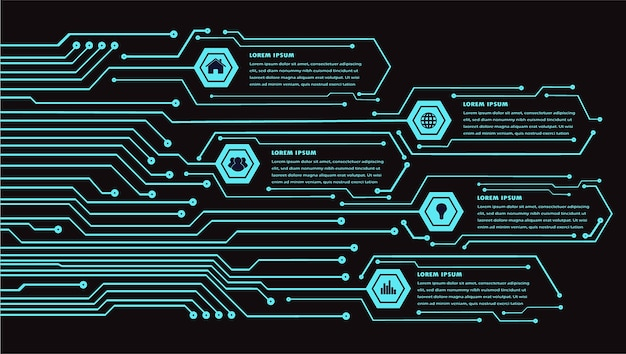 Internet delle cose cyber circuit technology
