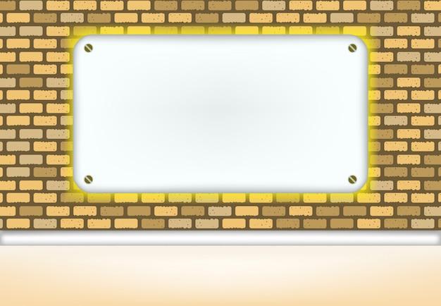 Interno astratto sfondo, luce effetto muro bianco