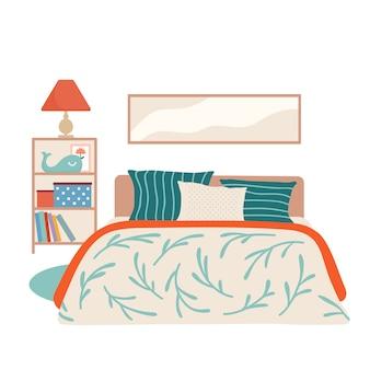 Interno camera da letto per bambini