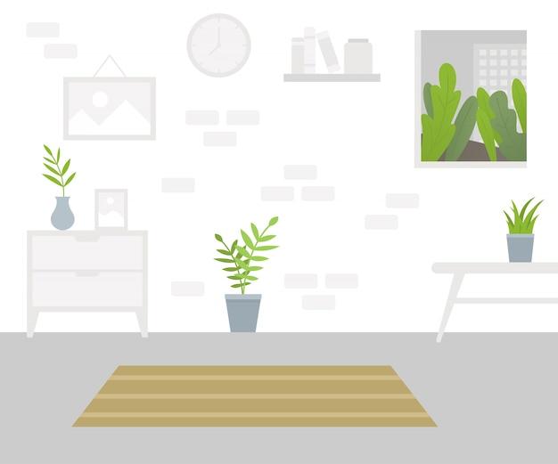 Interno del soggiorno