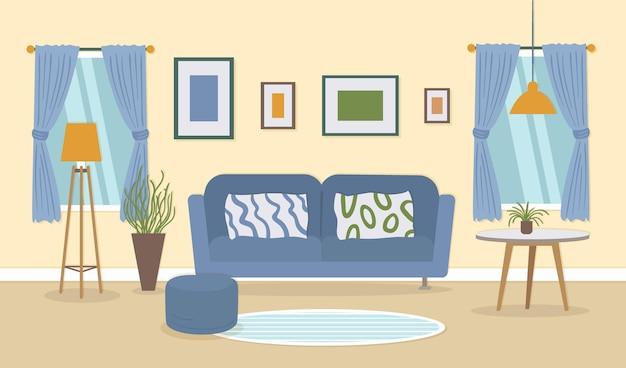 Interno di casa - sfondo per videoconferenze