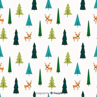 Inverno pattern di sfondo