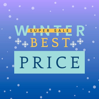 Inverno prezzo migliore vettore di vendita eccellente