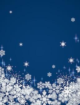 Inverno sfondo innevato