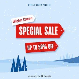 Inverno vendita ackground