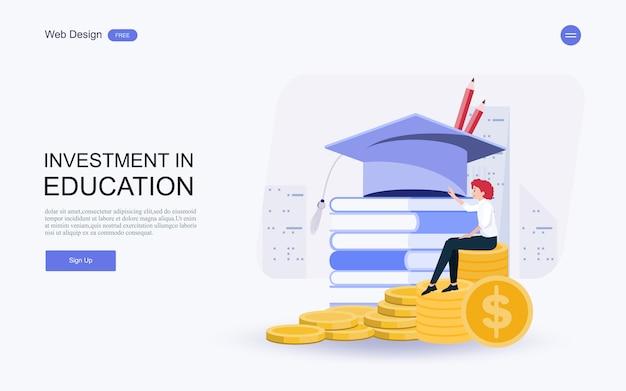 Investimenti in conoscenze, prestiti, borse di studio, risparmi per studio.
