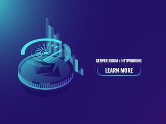 Investimento in criptovaluta, analisi e statistiche, programma etereo e grafico
