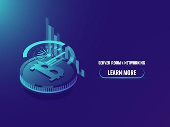 Investimento isometrico in criptovaluta, analisi e statistiche, programma bitcoin