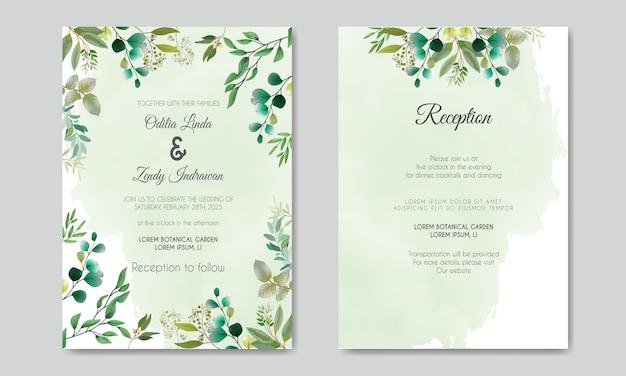 Invito a nozze bellissimo e romantico