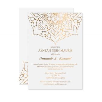 Invito a nozze di lusso