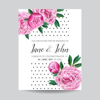 Invito a nozze floreale salva la data card