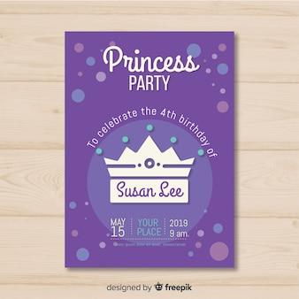 Invito a una festa principessa
